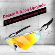 UV400 Cycling MTB Glasses Anti-Abrasion Bike Riding Sportswear Mountain Road Bicycle Eyewear Goggles...