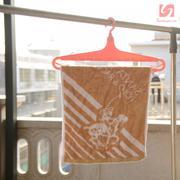 Móc treo quần áo thông minh KM 1165 hàng Nhật - Hồng