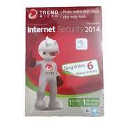 Bộ phần mềm diệt virus Trend Micro Titanium Internet Security (1 năm / 1 máy)