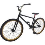 Xe đạp địa hình biểu diễn BMX freestyle màu Đen thời trang SportSlink XEBMX-DEN