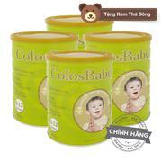 Bộ 4 Sữa bột ColosBaby 800g (tặng kèm gấu bông)